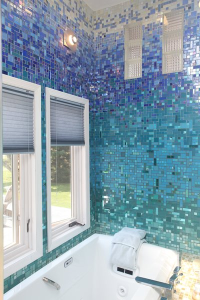 Photo 5 of A Tropical Glass Tile Get-away at Home modern home