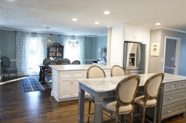 Photo 8 of South Carolina Residence: Milk Glass Backsplash modern home