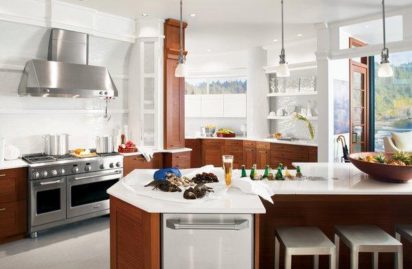 Photo 14 of GE White Kitchen modern home