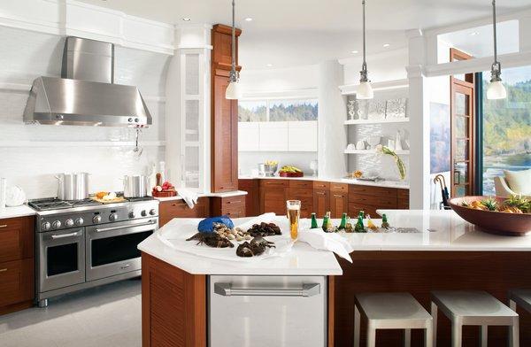 Photo 18 of GE White Kitchen modern home