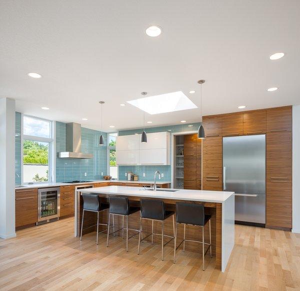 Kitchen  Photo 8 of Evergreen Pointe House modern home