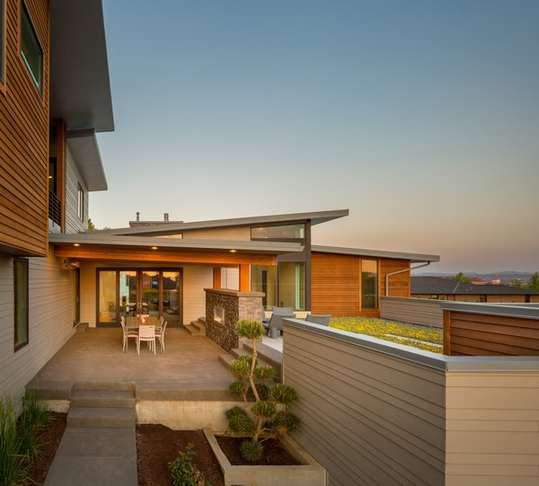Outdoor living Photo 10 of Evergreen Pointe House modern home