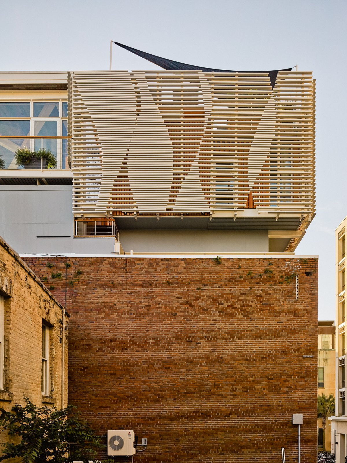 Tagged: Outdoor.  SKY residence by Kevan Hoertdoerfer Architects