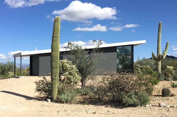 Modern home with outdoor. Photo  of Tucson Retirement Oasis