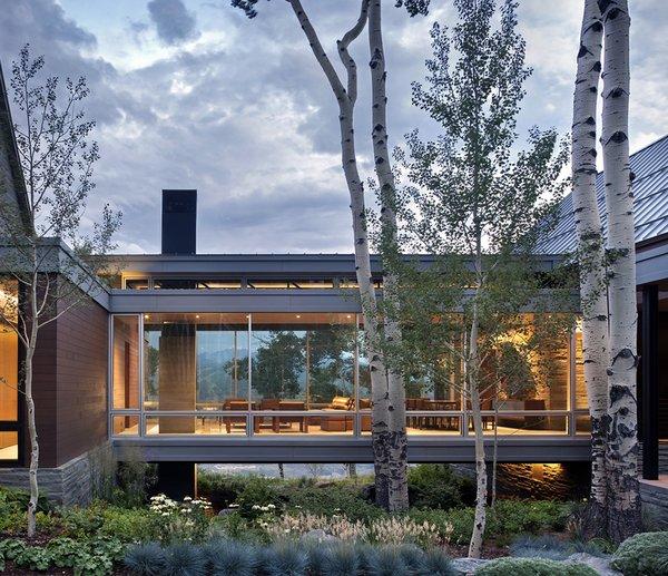 Photo  of The Bridge House modern home