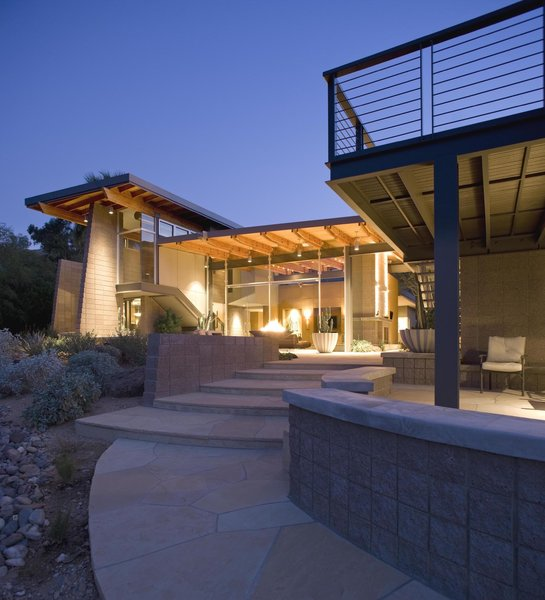 The Back Patio Photo 6 of Paradise Valley Residence modern home