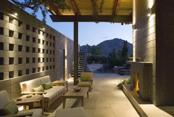 Entry Breezeway Photo 10 of Paradise Valley Residence modern home