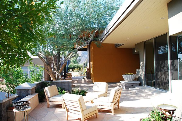 Entry Patio Photo 12 of Paradise Valley Residence modern home