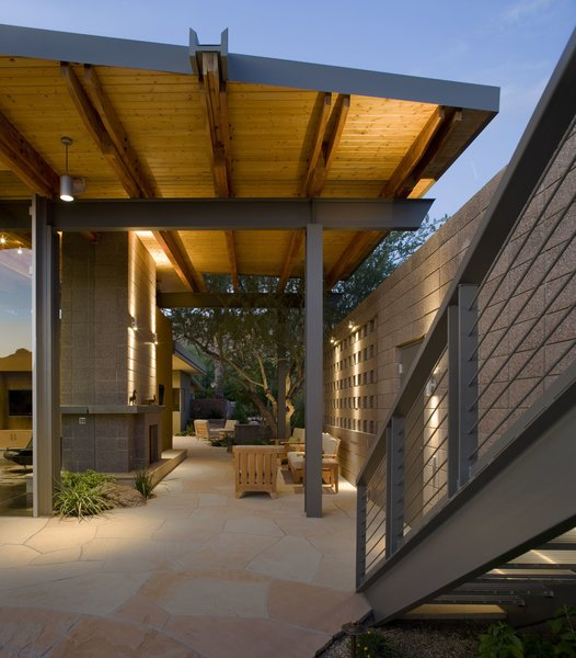 Breezeway Photo 13 of Paradise Valley Residence modern home