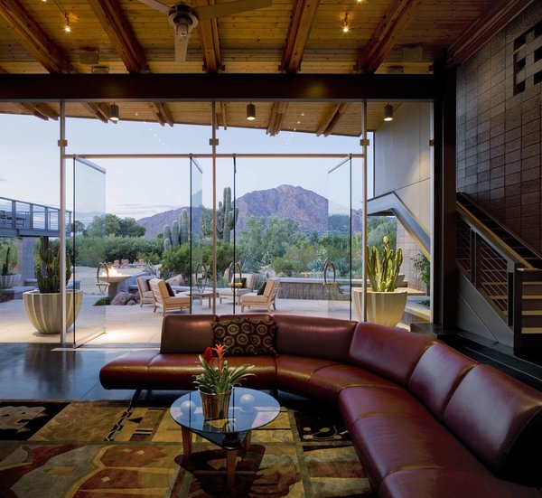 Living Room Exposure Photo 16 of Paradise Valley Residence modern home