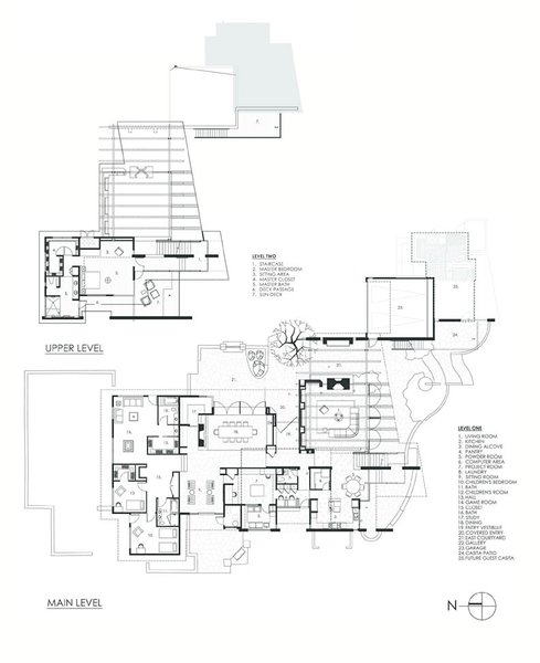 Floor Plans Photo 2 of Paradise Valley Residence modern home