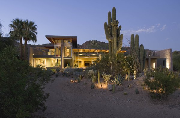 Midnight at the Oasis Photo 18 of Paradise Valley Residence modern home
