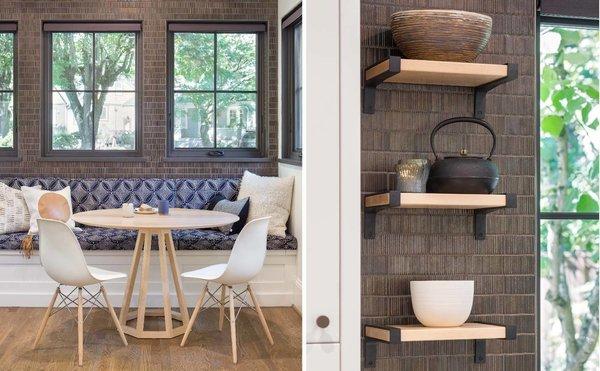 Custom table designed locally  Photo  of Grant Park Dutchie modern home
