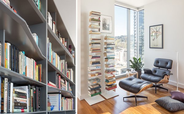 Custom undulating cabinets creates more interest for the viewer's eye Photo 5 of Atwater modern home