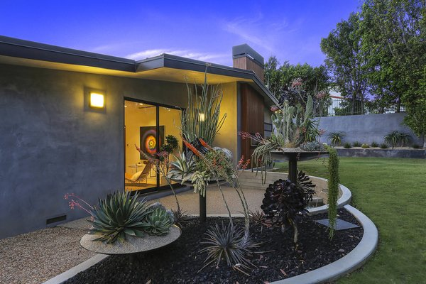 Master Bedroom Patio Photo 4 of The Pinstripe House - Mid-Century Modern Minimalism. Available for $7,750,000 modern home
