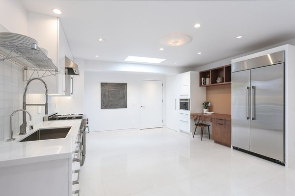 Catering Kitchen Photo 18 of The Pinstripe House - Mid-Century Modern Minimalism. Available for $7,750,000 modern home