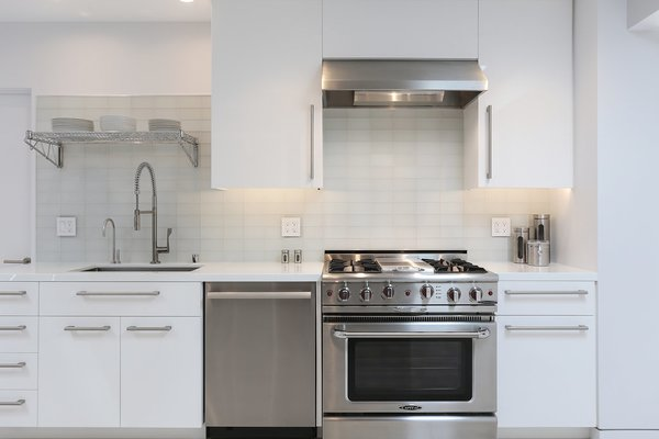 Catering Kitchen Photo 19 of The Pinstripe House - Mid-Century Modern Minimalism. Available for $7,750,000 modern home