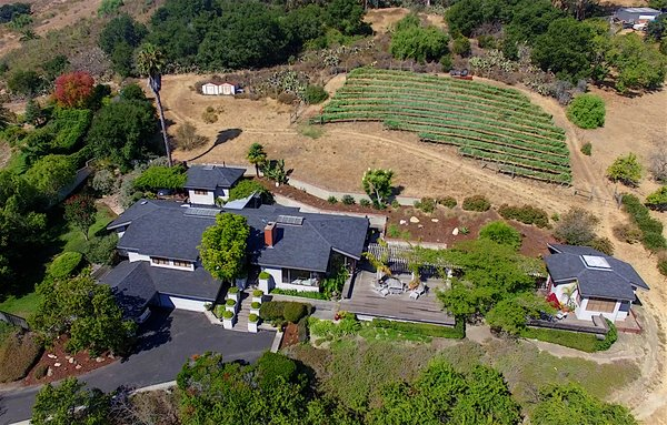 2 Acre Hillside Property above Downtown San Luis Obispo Photo  of The Dettmer House - 2 Acres in Downtown modern home