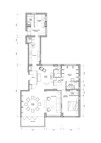 Layout Plan Photo 11 of |   A HEAD FULL OF DREAMS   | modern home