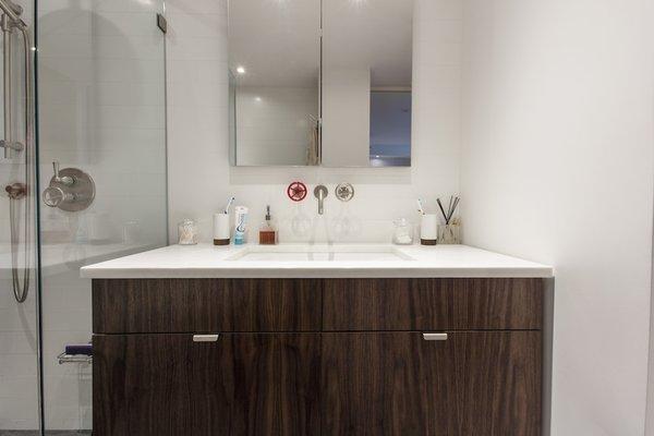 Modern home with kitchen. Photo 8 of Gramercy Studio Renovation