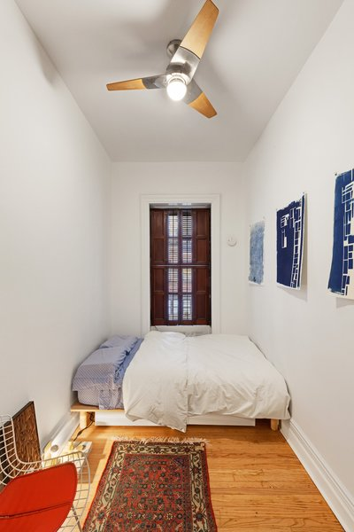 Modern home with bedroom. Photo 10 of Overhaul of an Upper West Side Brownstone Apartment