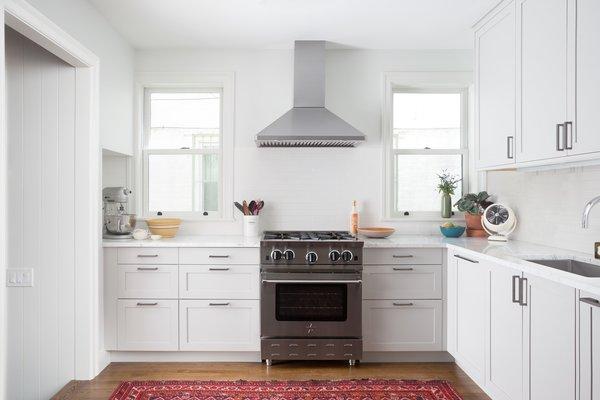 Kitchen Photo  of Townhouse Renovation modern home