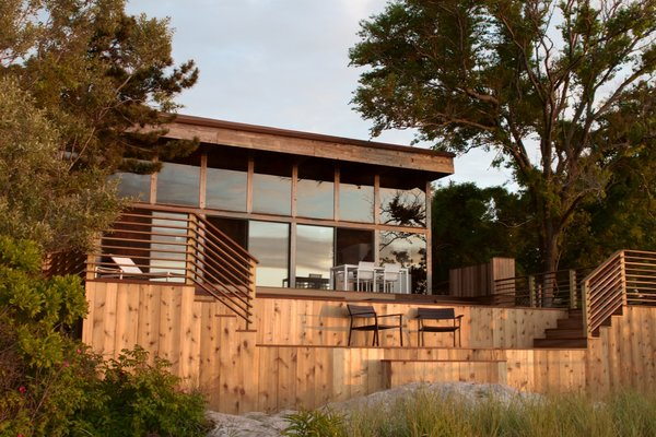 Sunset View Of House Photo 13 of Bay Walk Residence modern home