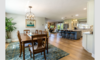 Coastal Canal Home Dining Room/Kitchen Photo 6 of Coastal Canal Home modern home