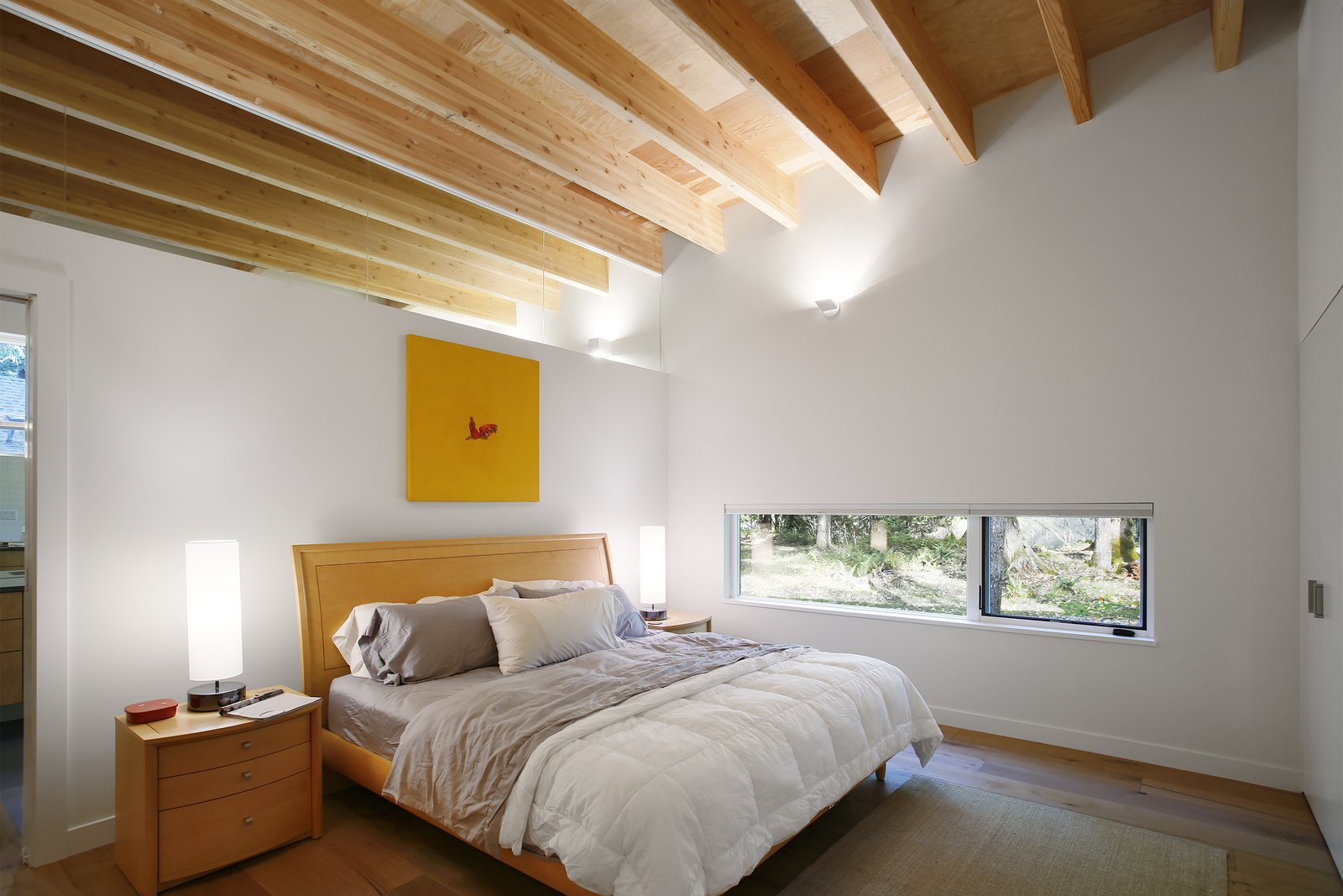 Tagged: Bedroom.  Courtyard House on a River by Robert Hutchison Architecture