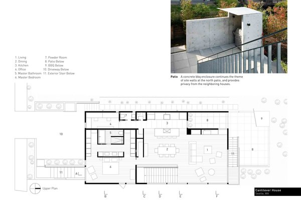 Photo 10 of Cantilever House modern home