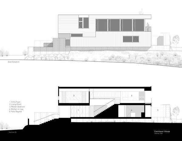 Photo 12 of Cantilever House modern home