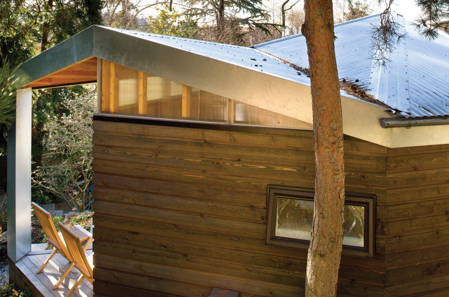 Tagged: Outdoor and Trees.  Studio for a Writer by Robert Hutchison Architecture