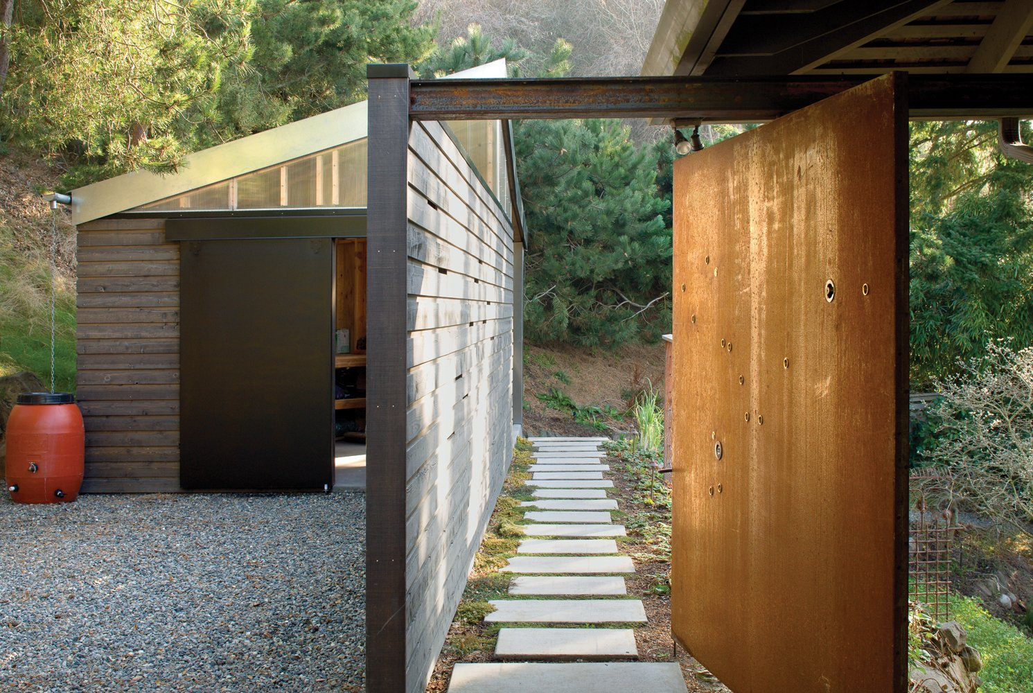 Tagged: Outdoor and Walkways.  Studio for a Writer by Robert Hutchison Architecture