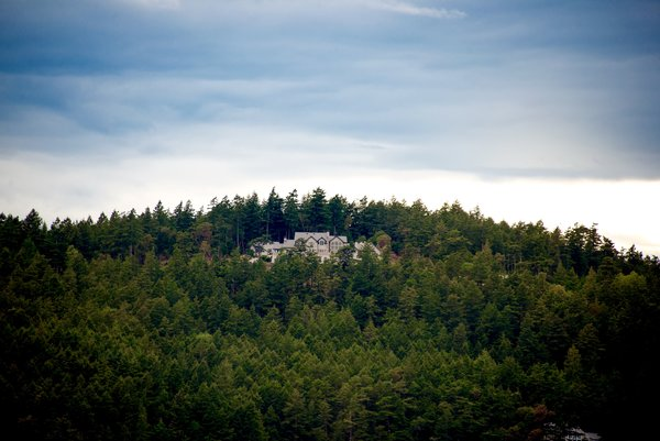View from the Salish Sea - Eagle's Nest Estate Photo 8 of Eagle's Nest Estate - San Juan Islands modern home
