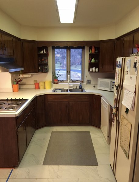 #kitchenbefore Photo 10 of Gayfields modern home