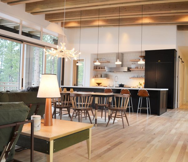 Great Room, Martis Camp Residence by Jill Dudensing Lifestyle + Design Photo 4 of Martis Camp Family Home by Jill Dudensing Lifestyle + Design modern home