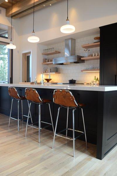 Breakfast Bar & Kitchen, Martis Camp Residence by Jill Dudensing Lifestyle + Design Photo 8 of Martis Camp Family Home by Jill Dudensing Lifestyle + Design modern home