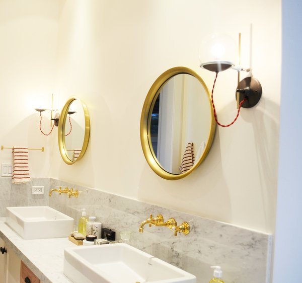 Master Bathroom, Martis Camp Residence by Jill Dudensing Lifestyle + Design Photo 17 of Martis Camp Family Home by Jill Dudensing Lifestyle + Design modern home