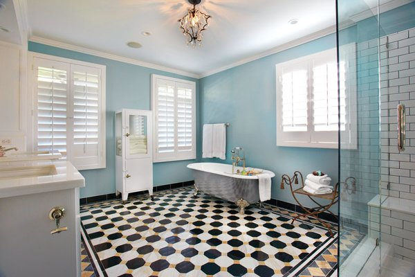 Bathroom, Elegant East Sacramento Residence by Jill Dudensing Lifestyle + Design Photo 8 of Elegant East Sacramento Residence by Jill Dudensing Lifestyle + Design modern home