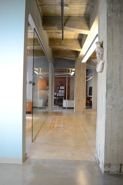 Hallway, Modern Law Firm by Jill Dudensing Lifestyle + Design Photo 7 of Modern Law Firm by Jill Dudensing Lifestyle + Design modern home