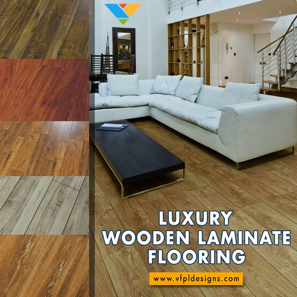 Modern home with living room. Photo  of Best Wood Laminate Flooring