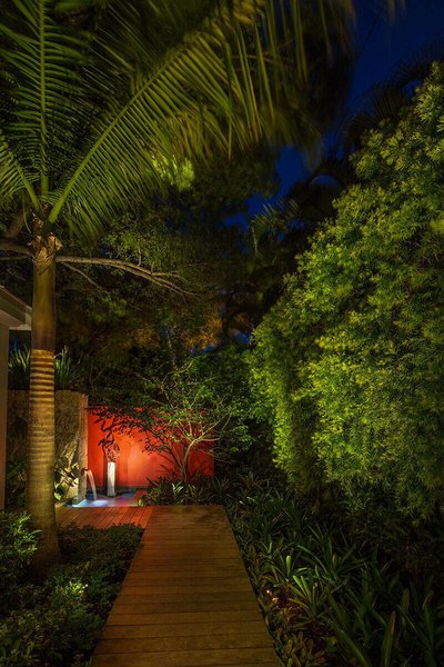 Even small gardens can have a big impact with the right design, tall palms lead your eyes upwards creating even more space in a small area while bold features at the end of a path accentuates the long view of the garden. Photo 17 of Von Phister modern home