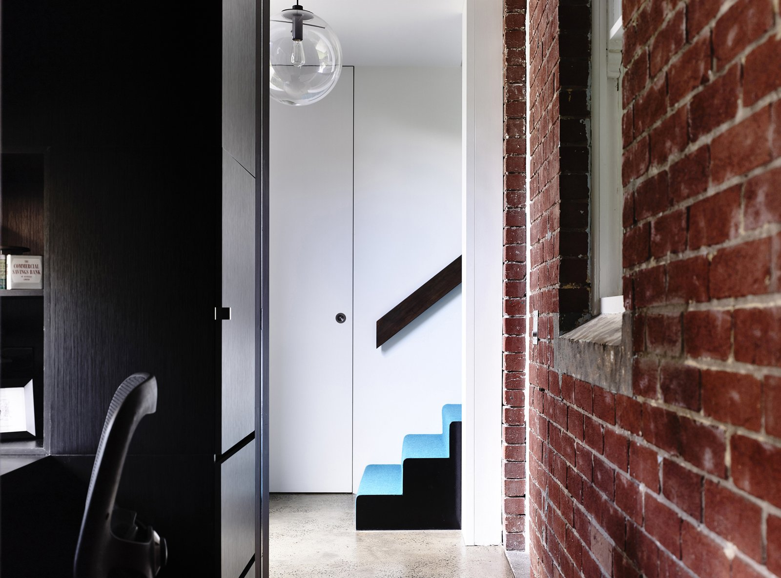Tagged: Staircase.  Photo 5 of 10 in Old Meets New in This Modern Extension to an Edwardian House in Melbourne