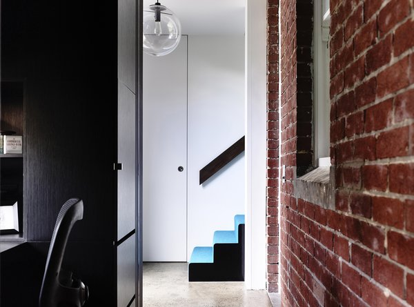 Modern home with staircase. Photo 6 of Elwood House