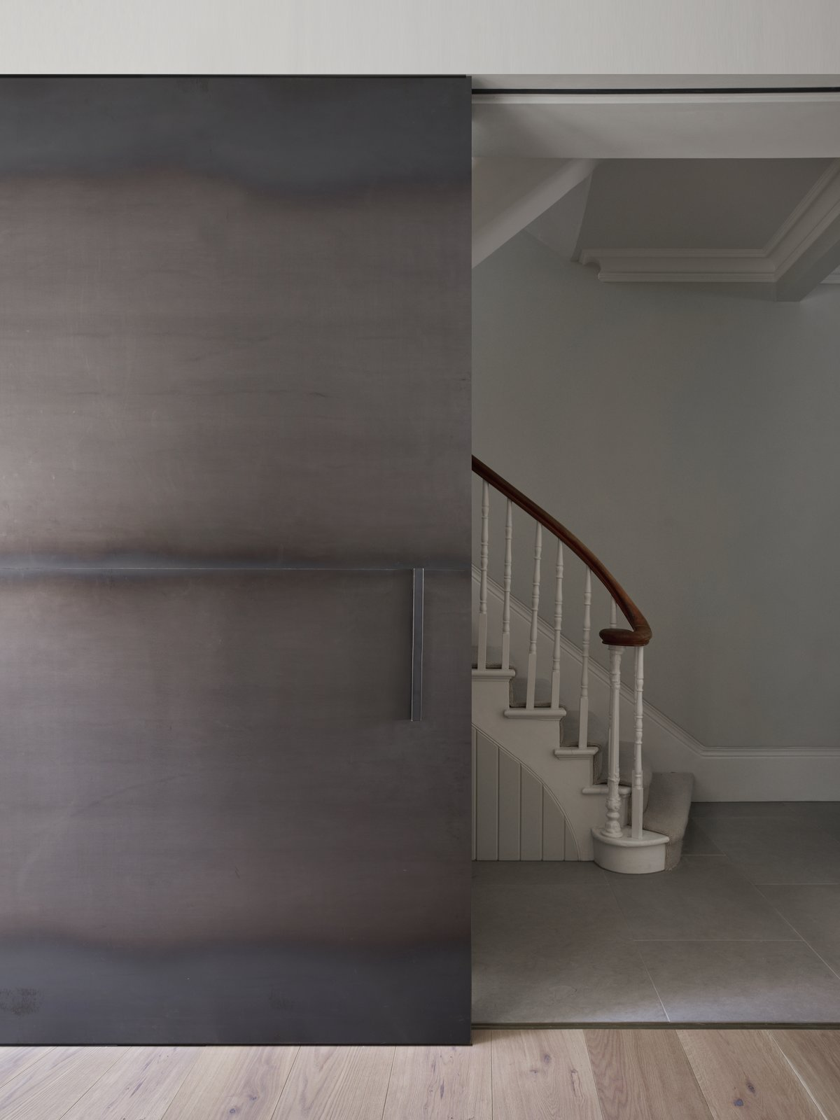 Tagged: Staircase.  Photo 7 of 10 in A Once-Derelict London House Restored With Modern Elegance
