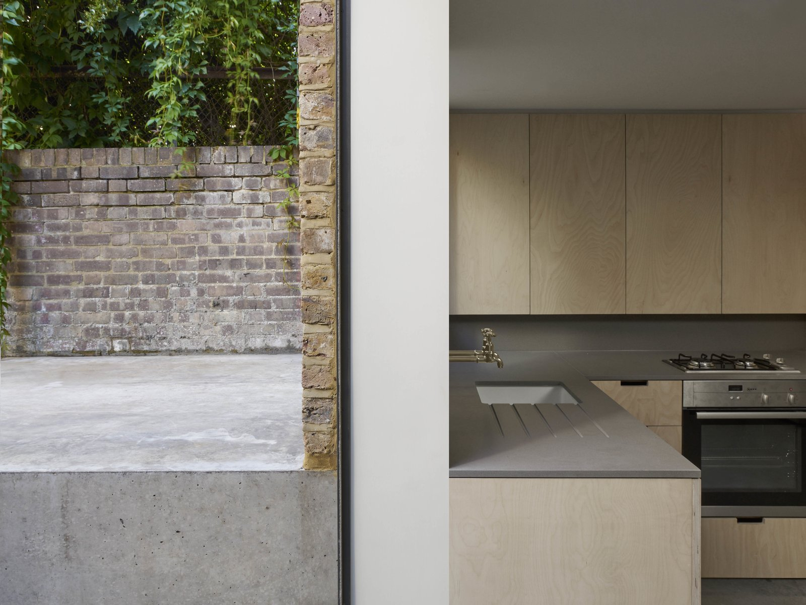 Tagged: Kitchen. A Once-Derelict London House Restored With Modern Elegance - Photo 4 of 10