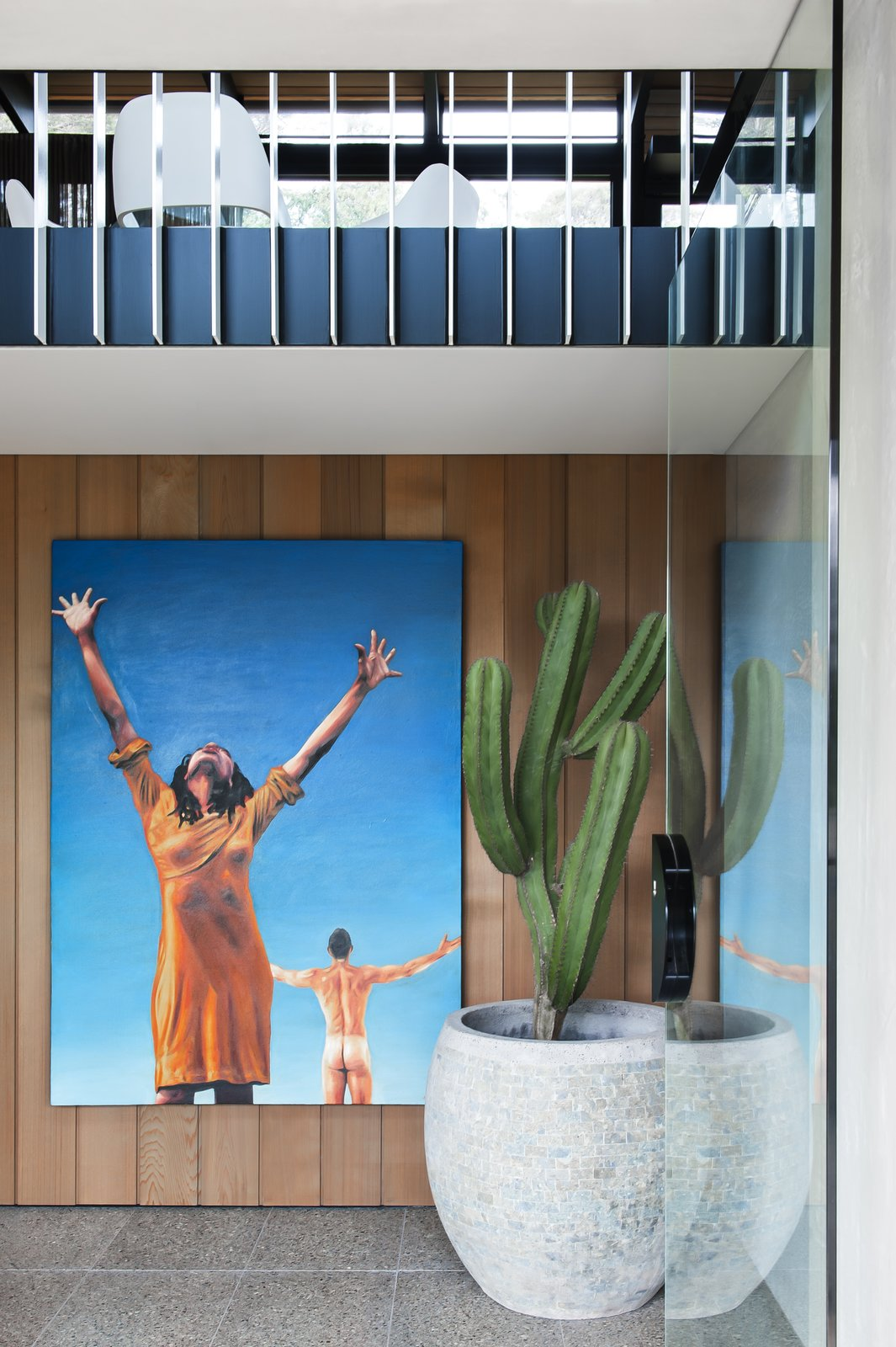 Photo 7 of 7 in Unexpected Bursts of Color Enliven a Midcentury Pad in Australia