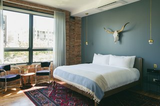 A New Chicago Bed-and-Breakfast Occupies a Former Publishing House - Photo 1 of 6 -