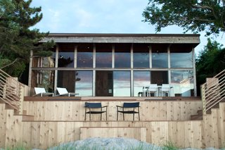 A Respectfully Renovated Horace Gifford Beach House on Fire Island Asks $1.8M - Photo 7 of 9 -