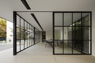 See How Sliding-Glass Pavilions Transformed a Renovated Melbourne Home